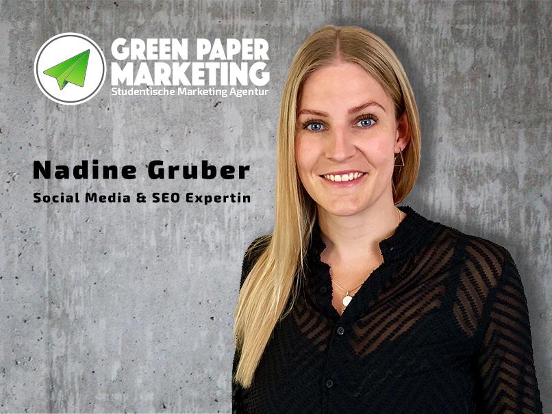 Nadine Gruber Mitarbeiterin